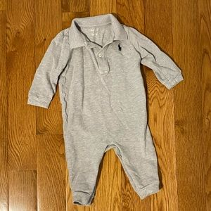 Ralph Lauren Baby Boy Romper (long sleeved)